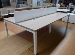 BUREAU BENCH PLOT DE 4 ECO 01